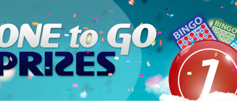 1 to go bingo promotion at cyberspins