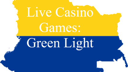 Live casino games in Colombia has green lights.