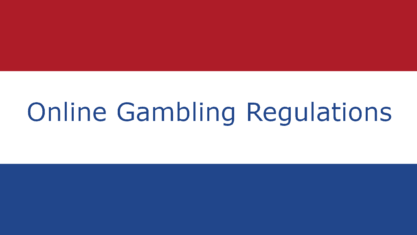 New online gambling regulations in the Netherlands.