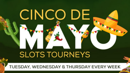 Slots tournament in may. Take part and win $500