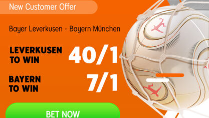 Play with enhanced odds on Bundesliga.