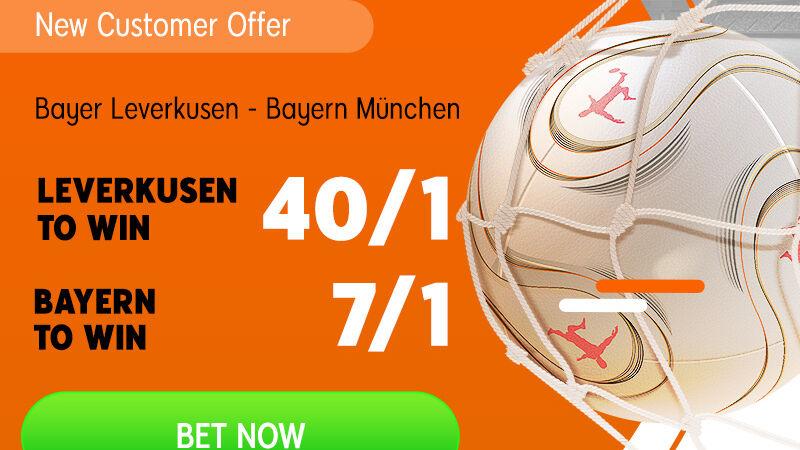 Play with enhanced odds on Bundesliga.