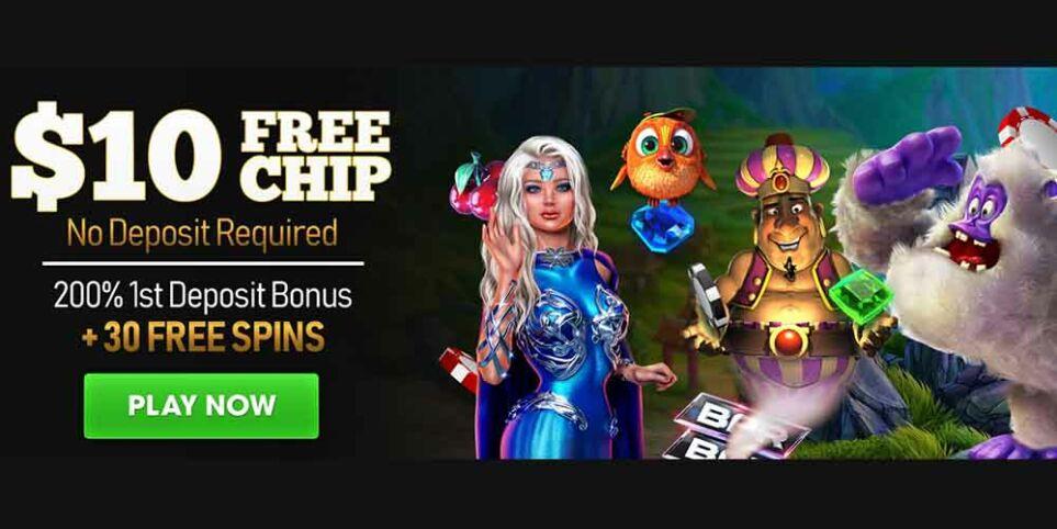vegas crest exclusive welcome bonus