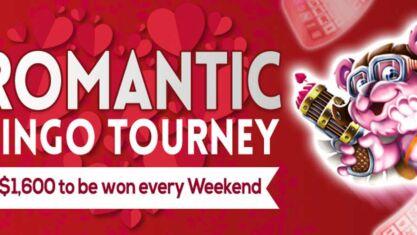 Valentine's Day Bingo Promo