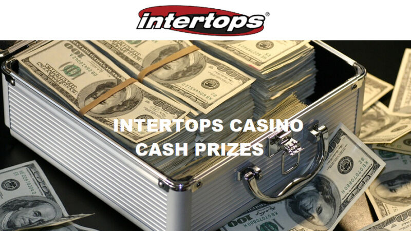 Intertops Casino cash prizes
