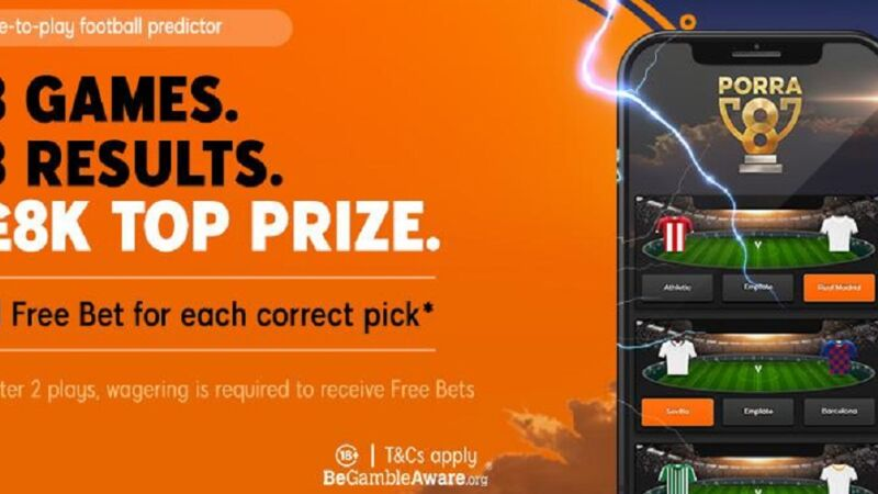 Football Predictor Free Bet at 888sport