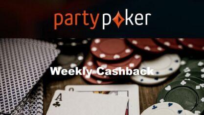 Partypoker Weekly Cashback