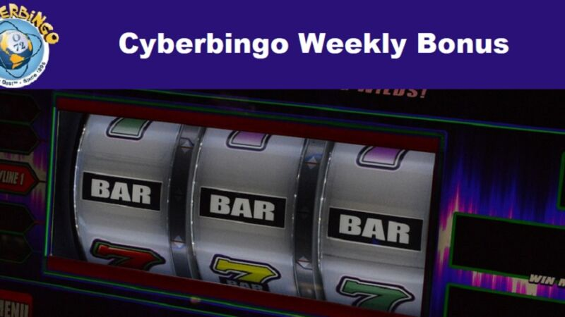 Cyberbingo Weekly Bonus