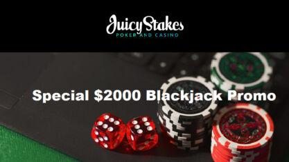 Special Blackjack Jackpot Promo