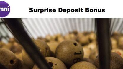 Omni Slots Casino Surprise Deposit Bonus
