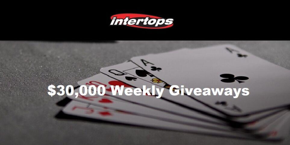 Intertops Casino Weekly Giveaways