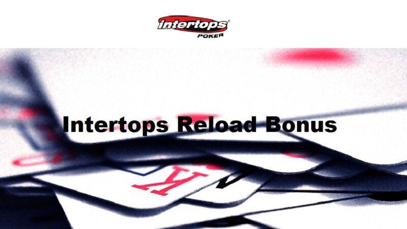 Intertops Poker Reload Bonuses