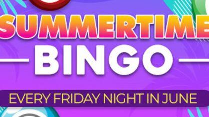 Summertime Bingo Promo at CyberBingo