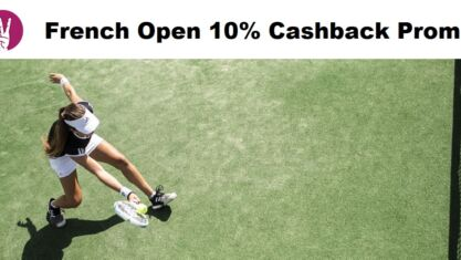 French Open Betting With Cashback Promo