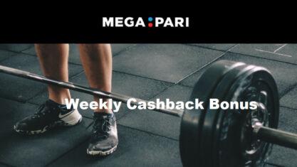 Weekly Cashback Bonus